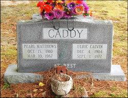 Pearl <i>Matthews</i> Caddy