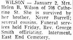 Helen B. Wilson