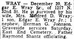 Edgar E. Wray