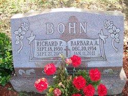 Barbara A <i>Johnston</i> Bohn
