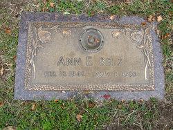 Ann E Belz