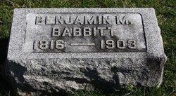 Benjamin Miller Babbitt