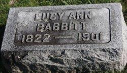 Lucy Ann <i>Rowley</i> Babbitt