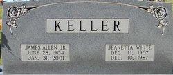 Jeanetta <i>White</i> Keller