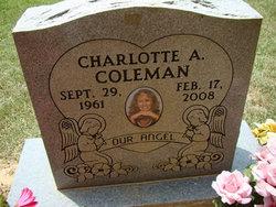 Charlotte A Coleman