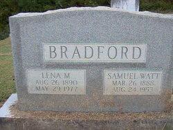 Samuel Watt Bradford