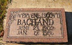Vervene <i>Scott</i> Bachand
