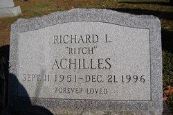 Richard Leon Ritch Achilles