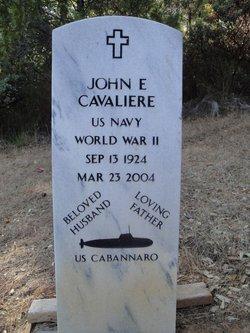 John E Cavaliere