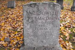 John T MacDowell