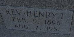 Rev Henry L Catrett