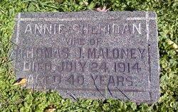 Annie <i>Sheridan</i> Maloney