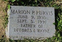 Marion P Purvis