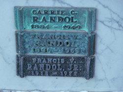 Francis V. Randol, Jr