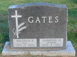 Mildred <i>Bernhardt</i> Gates