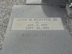 Alvin M McDuffie, III