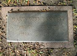 Mary Webb Barnett