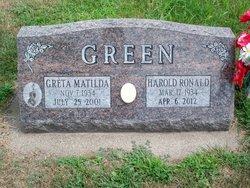Greta Matilda <i>Herbig</i> Green