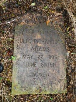 Julia Elizabeth <i>Richardson</i> Adams