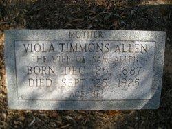 Viola <i>Timmons</i> Allen