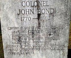 Col John Bond