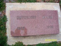 Katherine <i>Clark</i> Braun