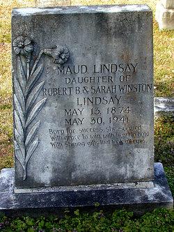 Maud McKnight Lindsay
