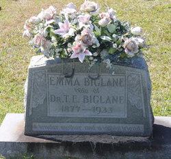 Emma <i>Duckworth</i> Biglane