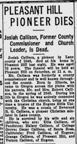 Josiah T. Callison
