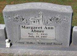 Margaret Ann Abner