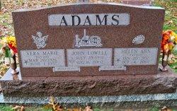 Helen Ann <i>Payton</i> Adams