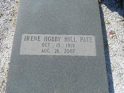 Irene <i>Hobby</i> Hill