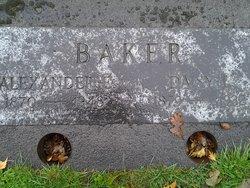 Alexander Baker