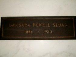 Barbara <i>Powell</i> Sloan