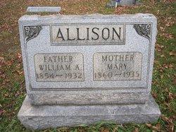 Mary <i>Rogers</i> Allison