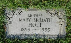 Mary Glovina <i>McMath</i> Holt