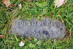 Edith E <i>Lee</i> Anderson
