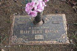 Mary Alice <i>Watson</i> Holman