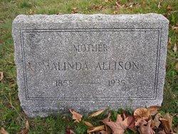 Malinda <i>Horner</i> Allison