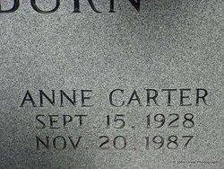 Anne Elizabeth <i>Carter</i> Blackburn