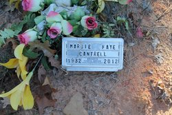 Margie Faye <i>Woods</i> Cantrell