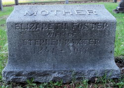Elizabeth <i>Foster</i> Baxter