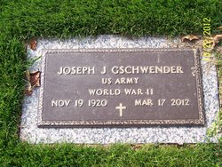 Joseph Jacob Gschwender