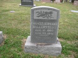 Frances <i>Schneider</i> Ballerstedt