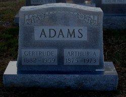E Gertrude <i>White</i> Adams