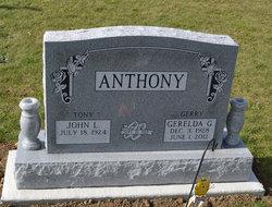 Gerelda G Gerry <i>Wahrer</i> Anthony