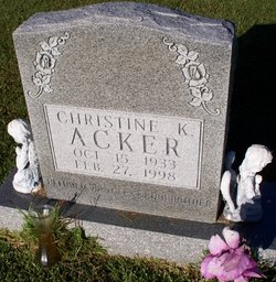 Christine K Acker