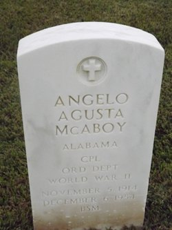 Corp Angelo Agusta McAboy
