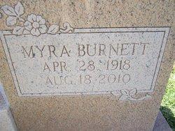 Myra M. <i>Burnett</i> Bates