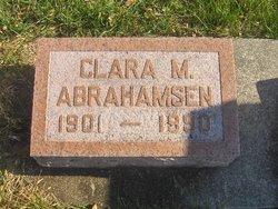 Clara M. <i>Amunson</i> Abrahamsen